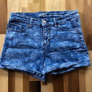 Distressed Jean Shorts.